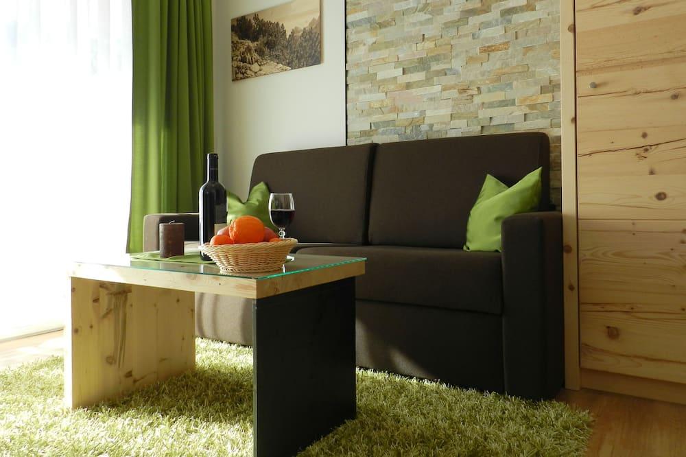 高級雙人房, 1 張特大雙人床, 非吸煙房 - 客廳