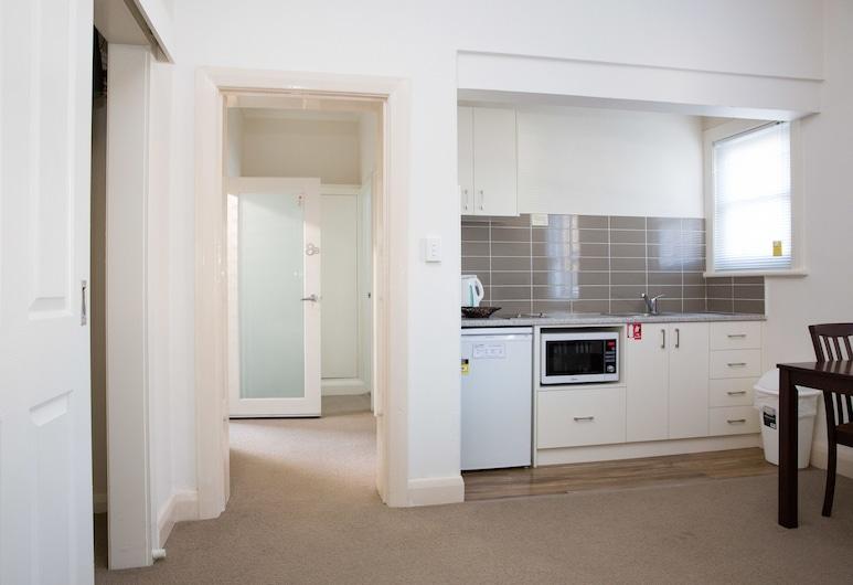 Apartments on Morrow, Wagga Wagga, Estúdio Cidade, 1 cama de casal, Cozinha, Vista para o Pátio, Área de Estar