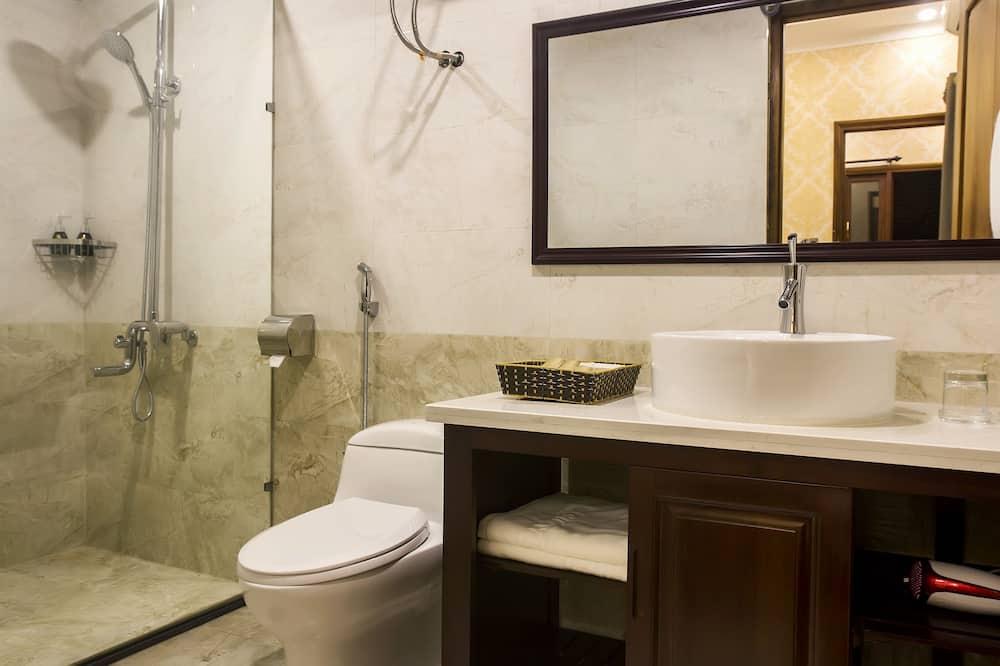 Huoneisto, 1 makuuhuone - Kylpyhuone