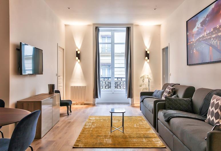 64 - Luxury Flat Champs-Élysées 1D, Paris, Apartment, 3 Bedrooms, Living Room