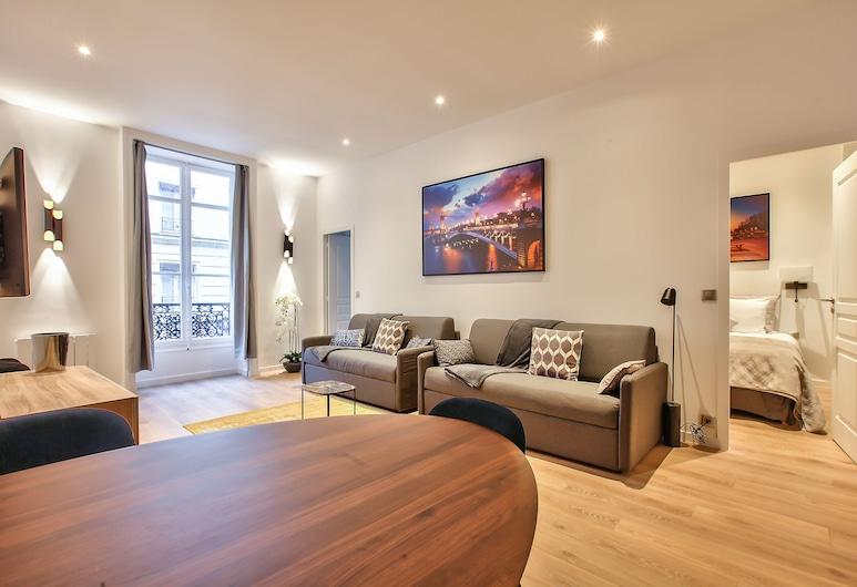 64 - Luxury Flat Champs-Élysées 1D, Paris, Apartment, 3 Bedrooms, Living Area