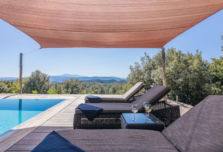 Villa Casenovole, Murlo, Piscine
