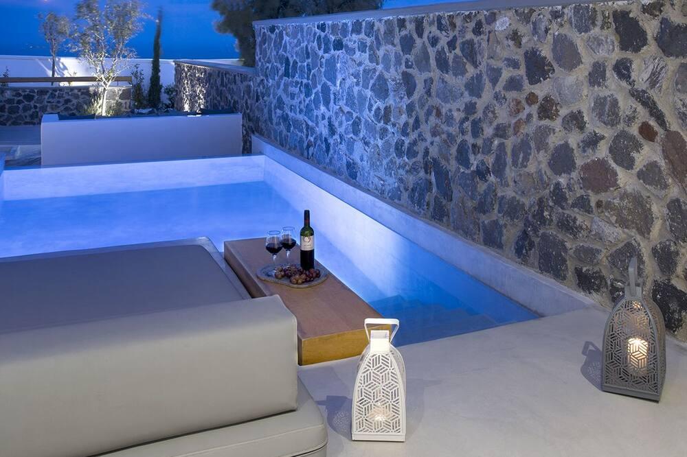 エグゼクティブ スタジオスイート プライベートプール - 部屋