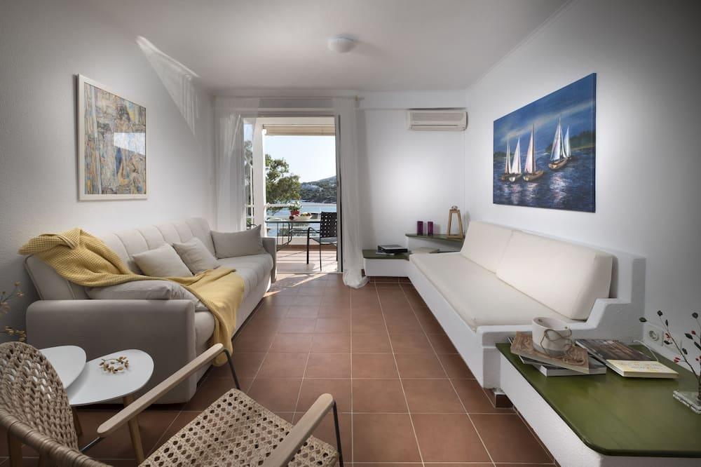 Deluxe Apartment, Sea View - Ruang Tamu
