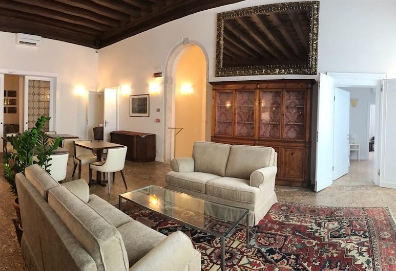 Suites alla Maddalena, Venedig, Wohnzimmer