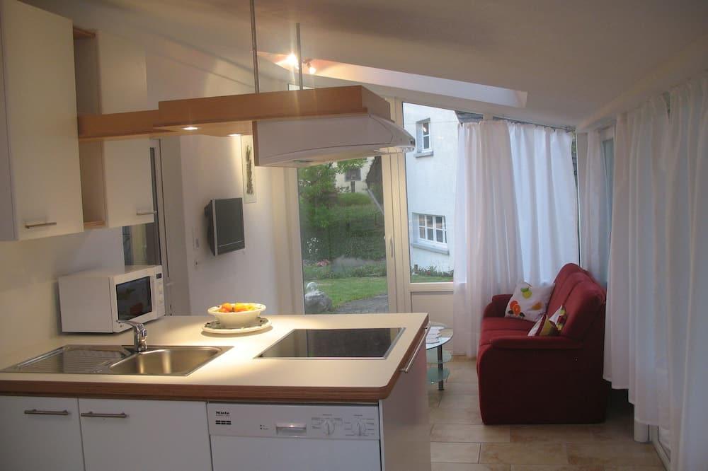Apartment, 2Schlafzimmer (Nussbaum) - Wohnbereich