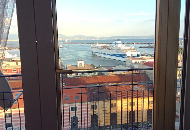 Marina Sky 8 Deluxe rooms, Naples, Deluxe Triple Room, Balcony, Sea View, Balcony