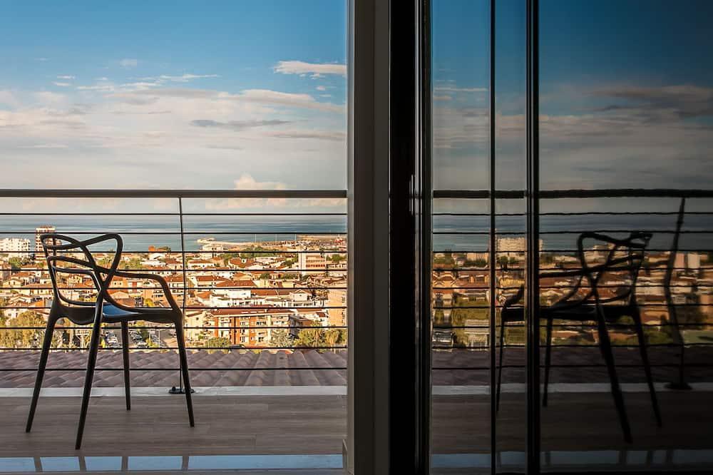 Panoramic-Suite, Meerblick - Balkon