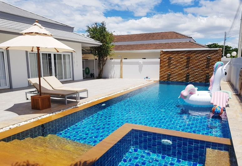 Thiva Pool Villa Plus Hua Hin, Hua Hin, Pool Waterfall