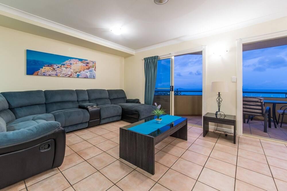 דירה, 2 חדרי שינה, נוף לאוקינוס - סלון