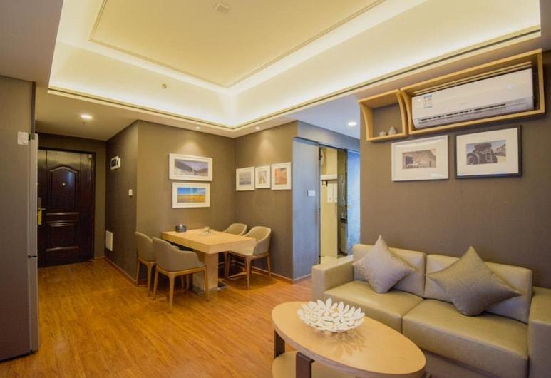 廣州 A Hotel 服務式公寓, 廣州市, 家庭套房(僅限中國大陸客人), 客廳