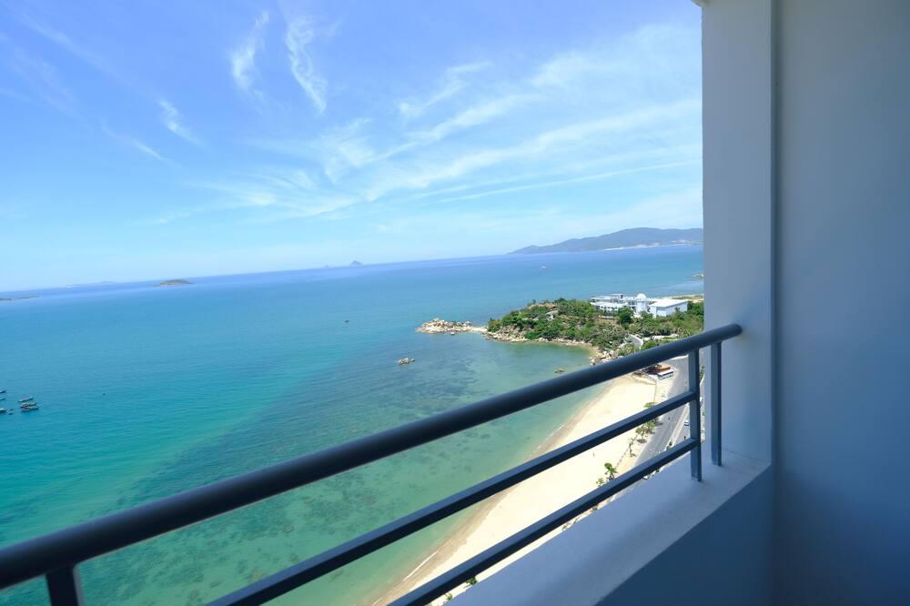 Appartamento, 2 camere da letto, vista oceano - Balcone