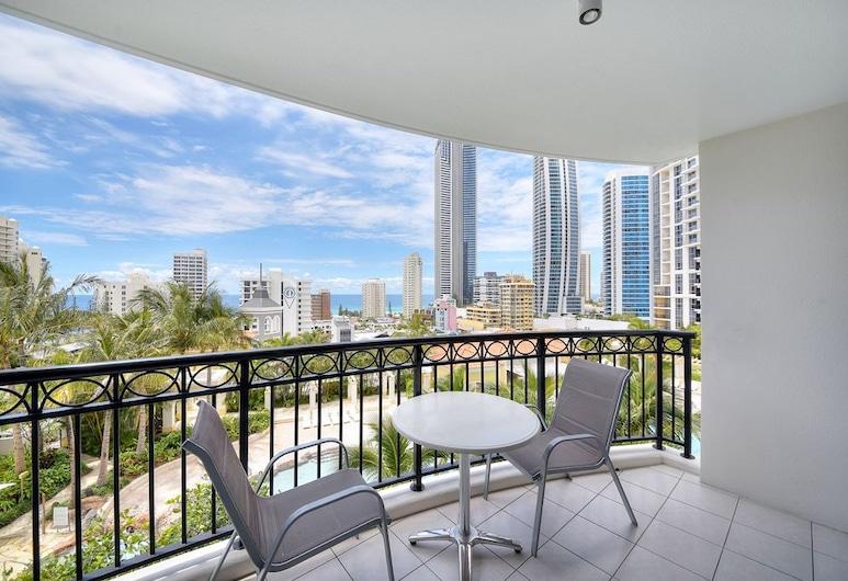 GCA Chevron Renaissance, Surfers Paradise, Deluxe-Apartment, 2Schlafzimmer, 2 Bäder, Balkon