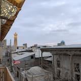 Klasikinio tipo kambarys - Vaizdas iš balkono