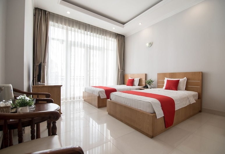 Bin Bin Hotel 2 Near Him Lam D7, Ho Chi Minh City, Deluxe Double or Twin Room, Guest Room View