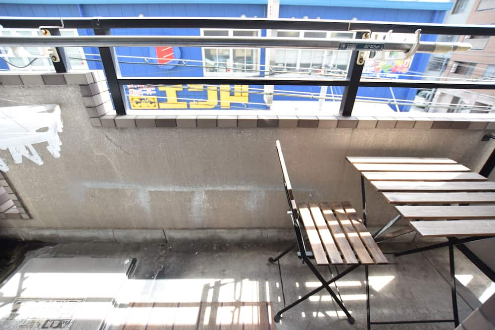 Apartment, 1 Schlafzimmer (Shin Nippombashi (303)) - Balkon