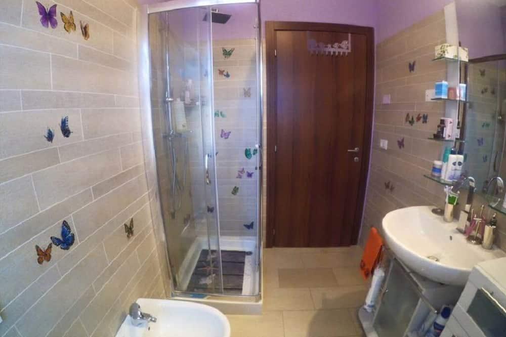 Double Room, Shared Bathroom, Mountain View - Bathroom