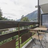 Lägenhet - balkong - utsikt mot bergen (202) - Balkong