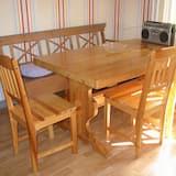 Casa familiar, 2 habitaciones - Servicio de comidas en la habitación