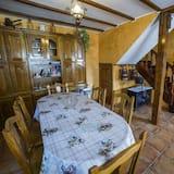 Коттедж, 3 спальни, терраса - Зона гостиной