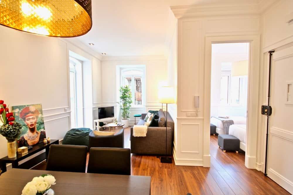 apartman, 2 hálószobával, terasz - Nappali