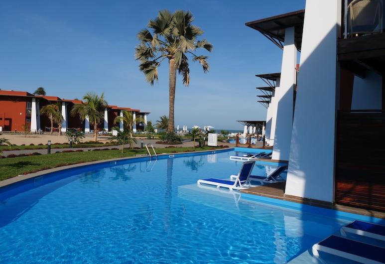 African Princess Beach Hotel, Serrekunda, Double Room, Non Smoking, Pool View (Upper Floor), Guest Room View