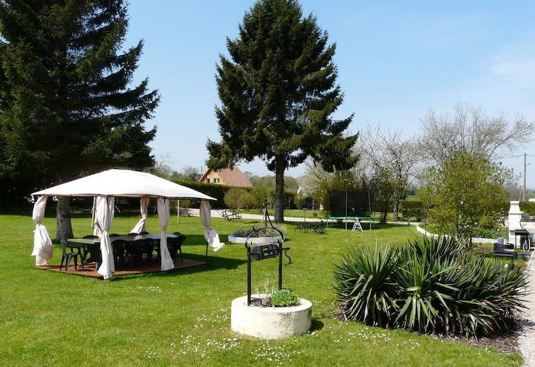 Domaine de la Reine Blanche, Criquetot-sur-Longueville, Garten