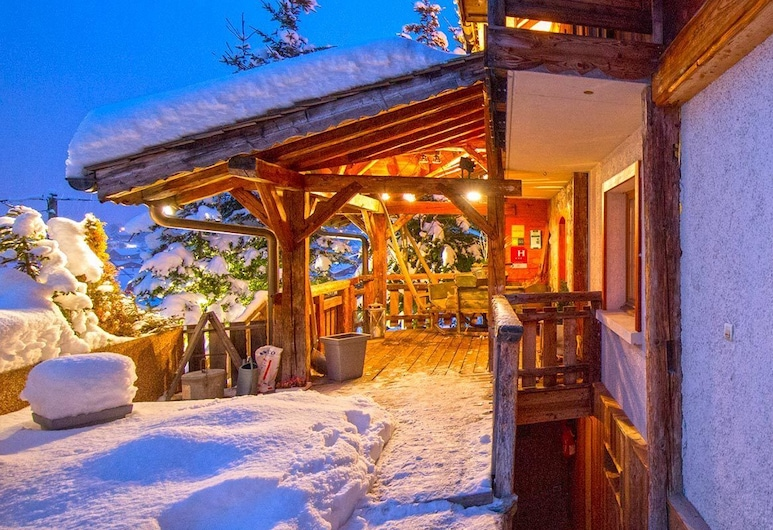 Hotel Chalet Philibert, Morzine, Terrasse/veranda