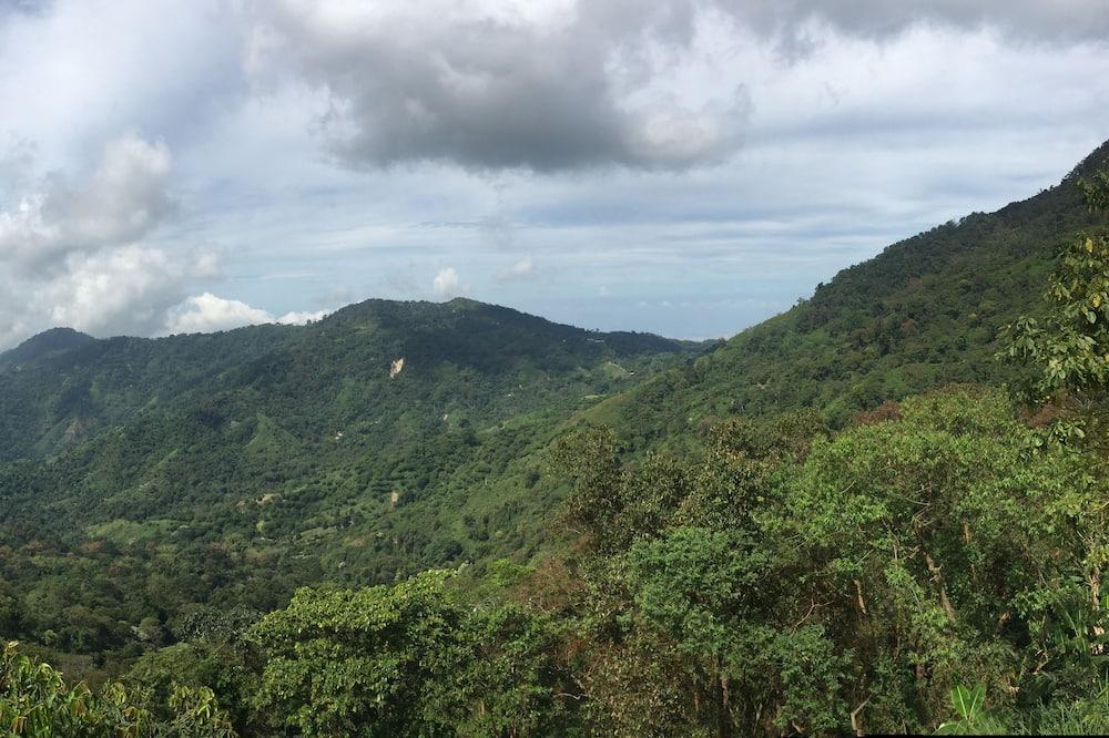 Rum - utsikt mot bergen - Bergsutsikt