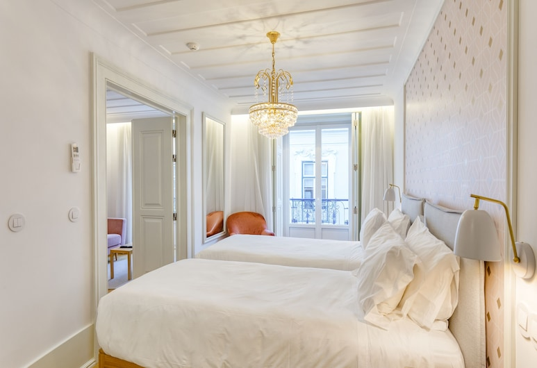 Boutique Chiado Suites, Λισσαβώνα, Deluxe Δίκλινο Δωμάτιο (Double ή Twin), Δωμάτιο επισκεπτών
