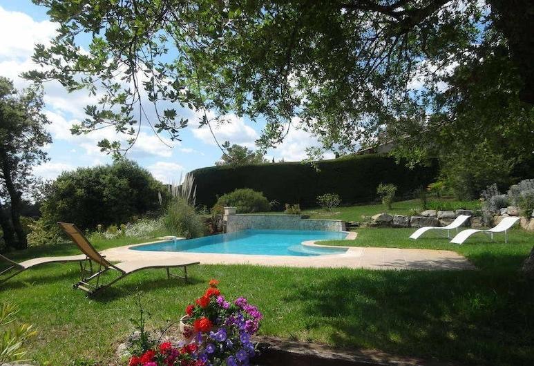 Troistours - Location villa de vacances avec piscine privée - Haut Var - Provence Apartment 6, Aups, Apartament, Basen odkryty