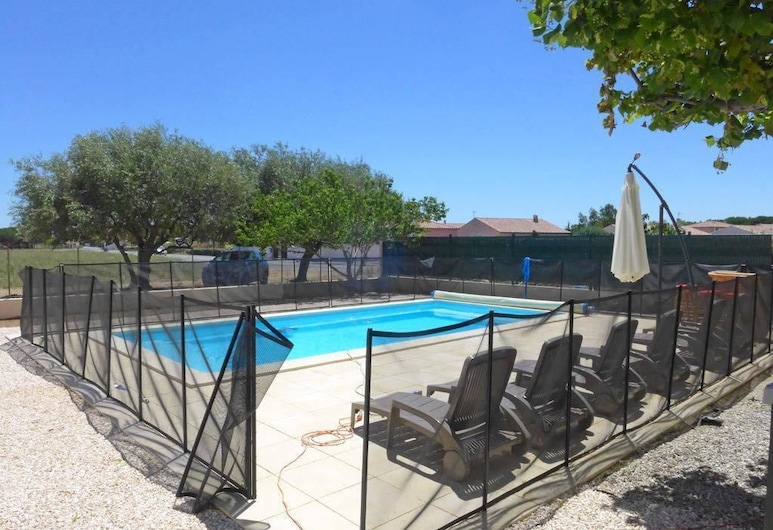 Atinoura - Maison rénovée, à l'entrée du village, piscine, proche plages Apartment 5, Salleles-d'Aude, Külaliskorter, Välibassein