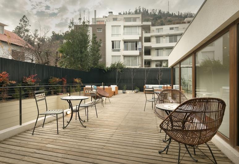 Casa Bellavista Hotel, Santiago, Terrace/Patio