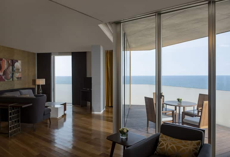 Hilton Beirut Downtown, Beirut, Executive Suite, 1 Bedroom, Balcony