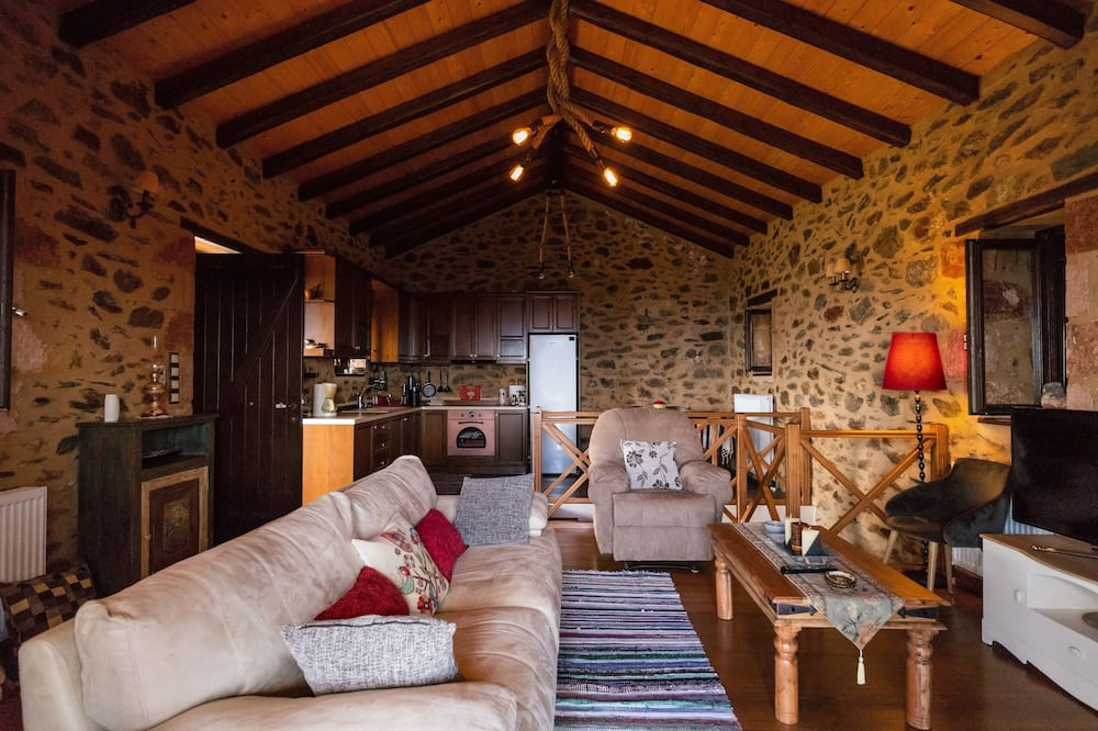 Superior Villa, 1 Bedroom, Mountain View - Living Area