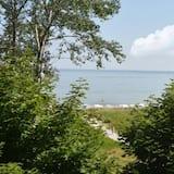 Kilátás a tájra a szállásról