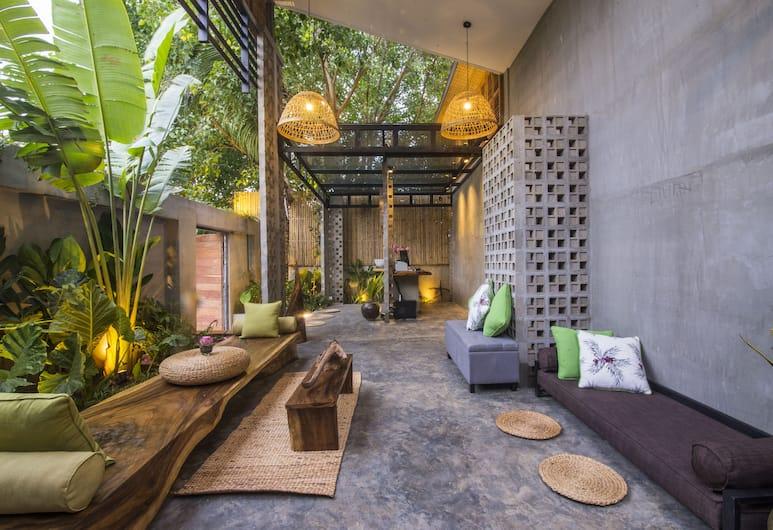 Sarina Hotel & Villa, Phnom Penh, Priestory na sedenie v hale