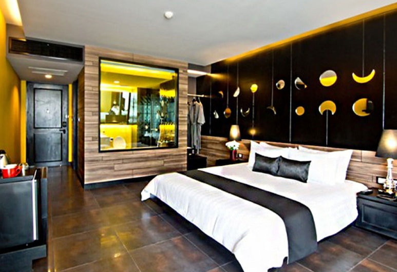 TSix5 Quarter, Pattaya, Deluxe Room, Guest Room