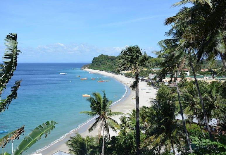 Marion Roos Hotel, Puerto Galera, View from Hotel