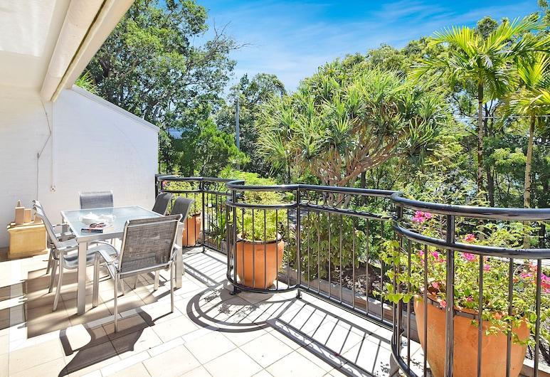 Bayona, Noosa Heads, Apartament, 2 sypialnie, widok na ogród, Balkon
