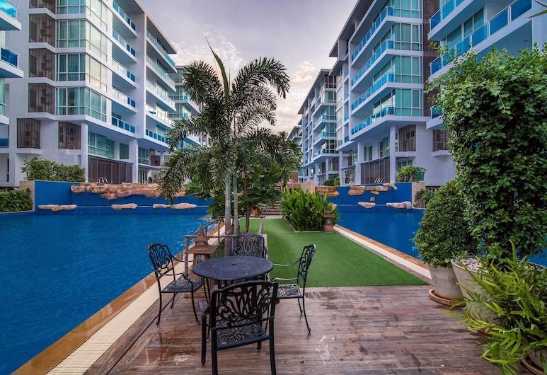 華欣 D307 我的公寓式客房度假村, Hua Hin, 室外泳池
