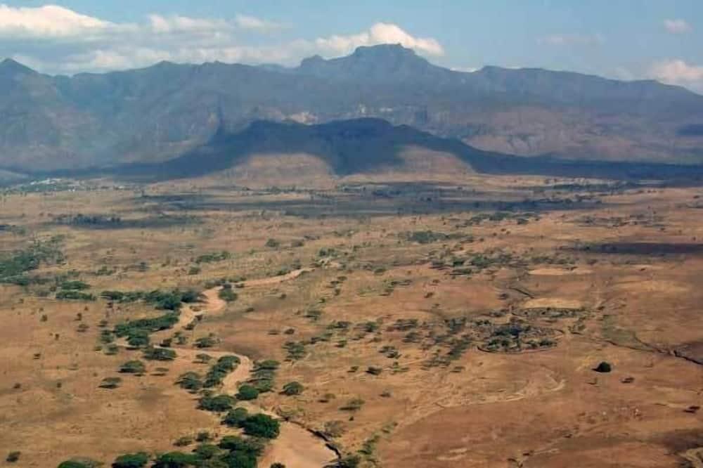 Deluxe tweepersoonskamer, uitzicht op bergen - Uitzicht op bergen