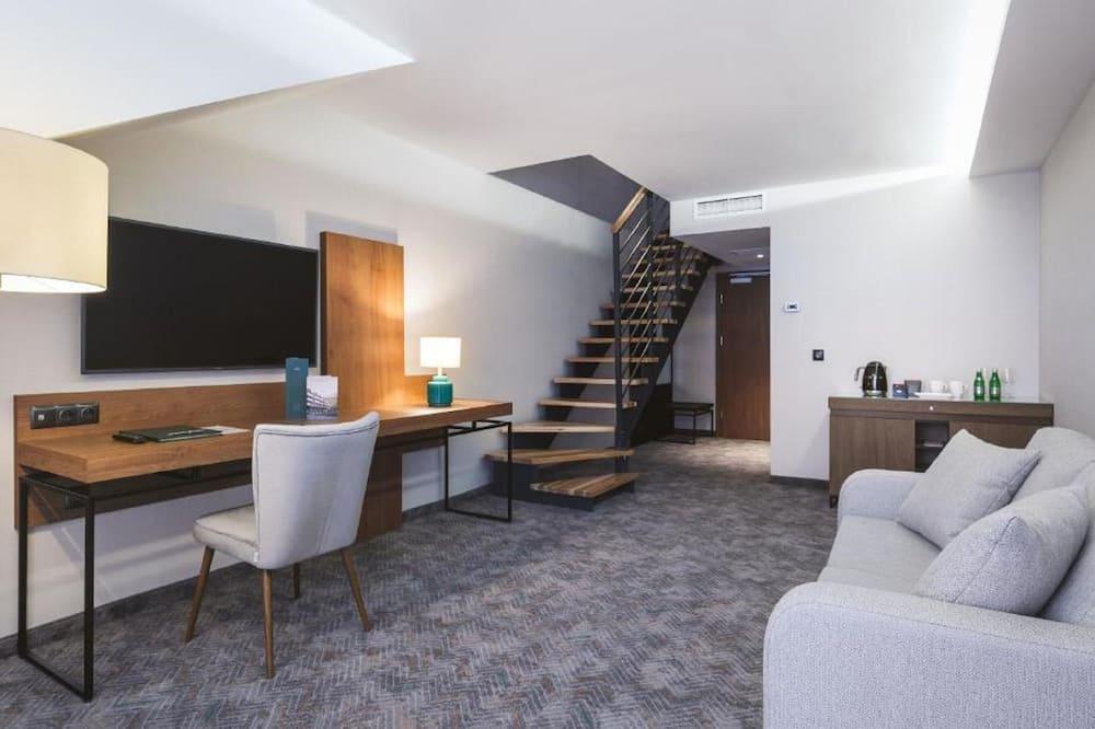 2-levels room - Powierzchnia mieszkalna