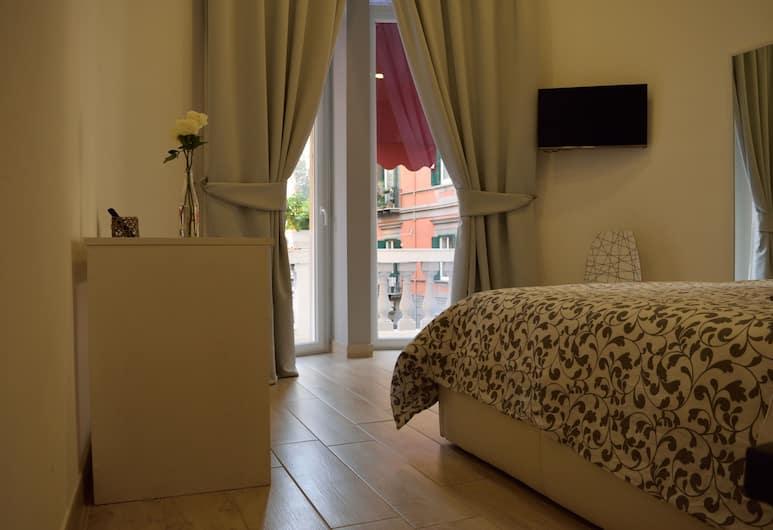 B&B FILANGIERI, Naples, Suite Deluks, 1 kamar tidur, balkon, pemandangan kota, Kamar Tamu