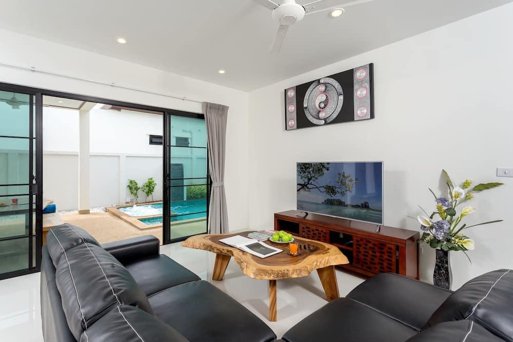 Comfort-Villa - Wohnzimmer