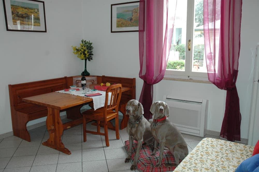 Comfort-Apartment, 1 Schlafzimmer, Meerblick - Wohnzimmer