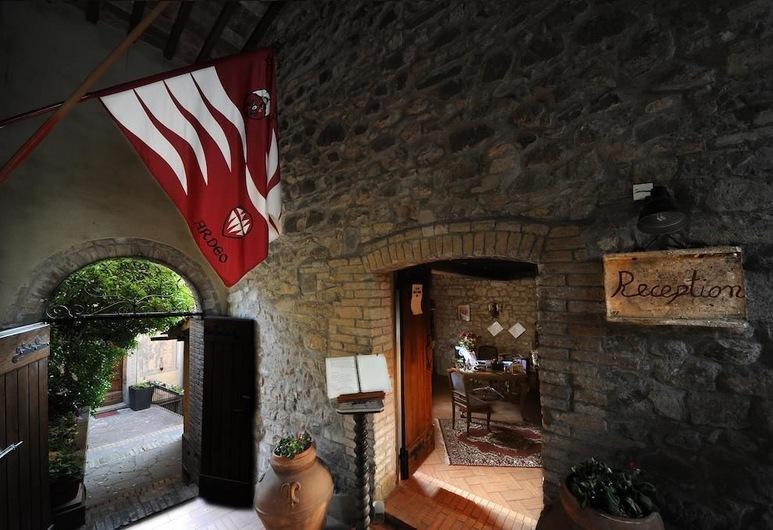Il Palazzo Boutique - Near Fortress of Montalcino, Montalcino, Hotel Front