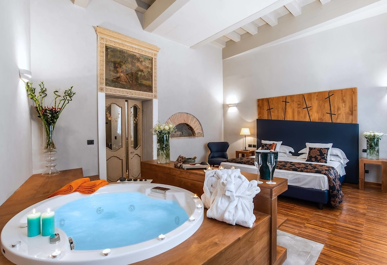 The Code Hotel, Rim, Junior Suite, masažna kada, Soba za goste