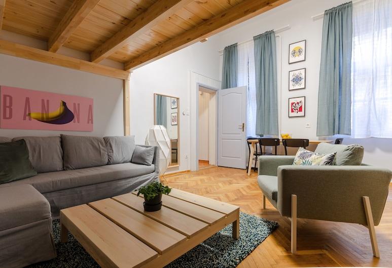 Ajowan Apartment, Budapeszt, Studio, Łóżko queen i sofa, Powierzchnia mieszkalna