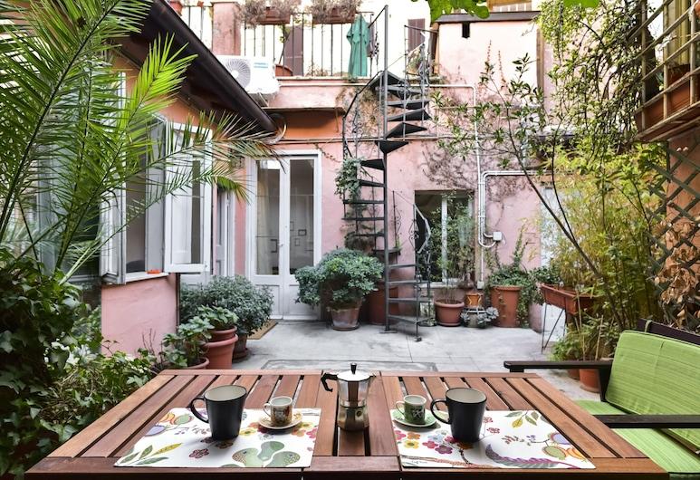Monti Secret Garden Apartment, Rím, Apartmán, terasa, Terasa